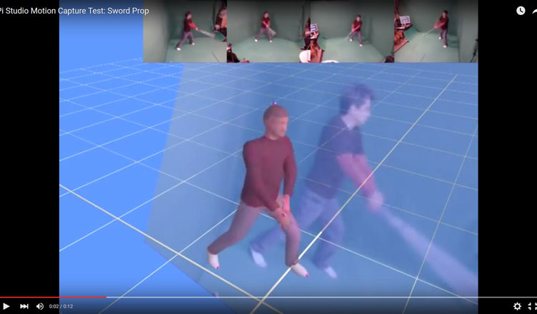 'Garage' Motion Capture